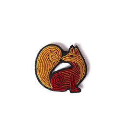 Macon & Lesquoy Brooch - Fox
