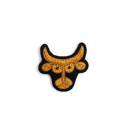 Macon & Lesquoy Taurus zodiac brooch