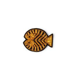 Macon & Lesquoy Pisces zodiac Brooch