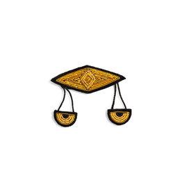 Macon & Lesquoy Libra zodiac brooch