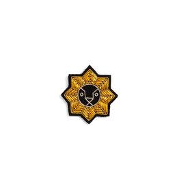 Macon & Lesquoy Leo zodiac brooch