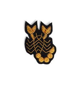 Macon & Lesquoy Scorpio zodiac brooch