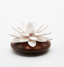 Ceramic flower perfume diffuser - Indian Lotus
