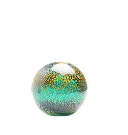 Glass ball green ocean - small