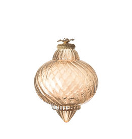 Christmas  ornament gold luster