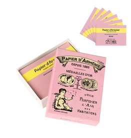 Rose Incense Paper Vintage Box Pack Of 6 Booklets Curiosa Cabinet