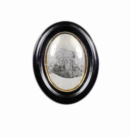 19th Century Witch Mirror Oval medium