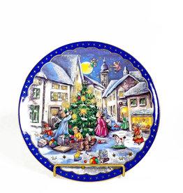 Vintage Reichenbach Christmas plate