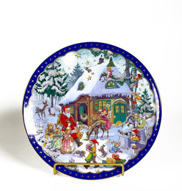 Vintage Reichenbach Christmas plate