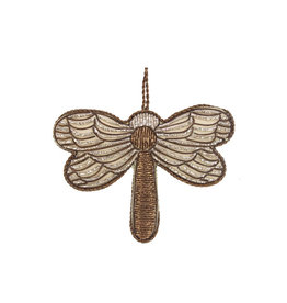 Dragonfly beaded ornament