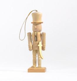 Single nutcracker craft ornament