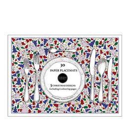 Marlies Boomsma Christmas paper placemats