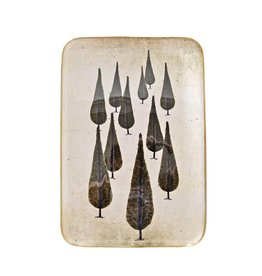 Boncoeurs Enamel Cypress tray