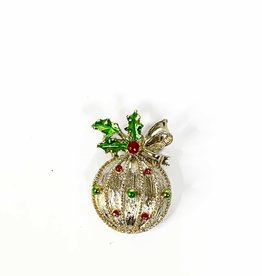 Vintage Christmas brooch by 'Gerry's'