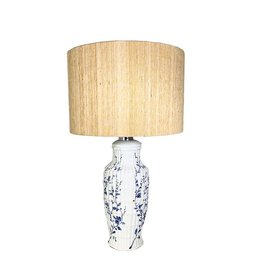 Marlies Boomsma Vintage handpainted Manises lamp