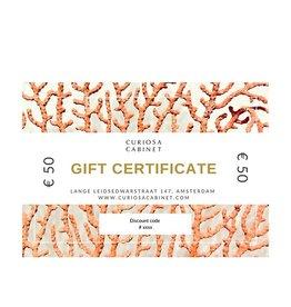 Gift certificate 50 Euros