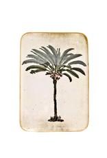 Boncoeurs Enamel Palm tree tray