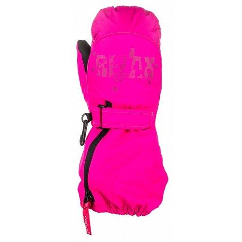 Relax Puzzyto Kinder winterhandschoenen Roze