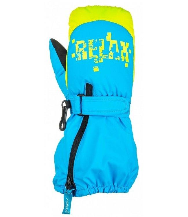 Relax Puzzyto Kinder Winter handschoenen Blauw
