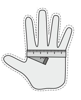 handschoen maten