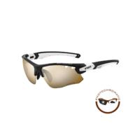 Crown Sport Zonnebril Zwart/Wit