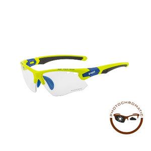R2 Crown Sport Zonnebril Geel/Blauw
