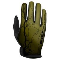 Flash Fietshandschoenen Zwart/Groen