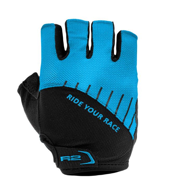 R2 Vouk Fietshandschoenen Zwart/Blauw