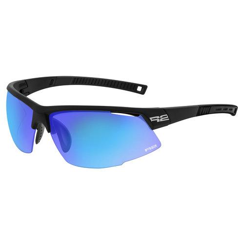 R2 Racer Sport Zonnebril Zwart/Blauw