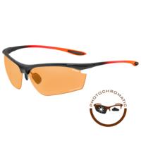 Peak Sport Zonnebril Zwart/Oranje