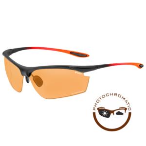 R2 Peak Sport Zonnebril Zwart/Oranje