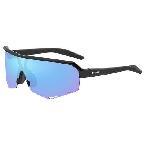 R2 Fluke Sport Zonnebril Zwart/Blauw