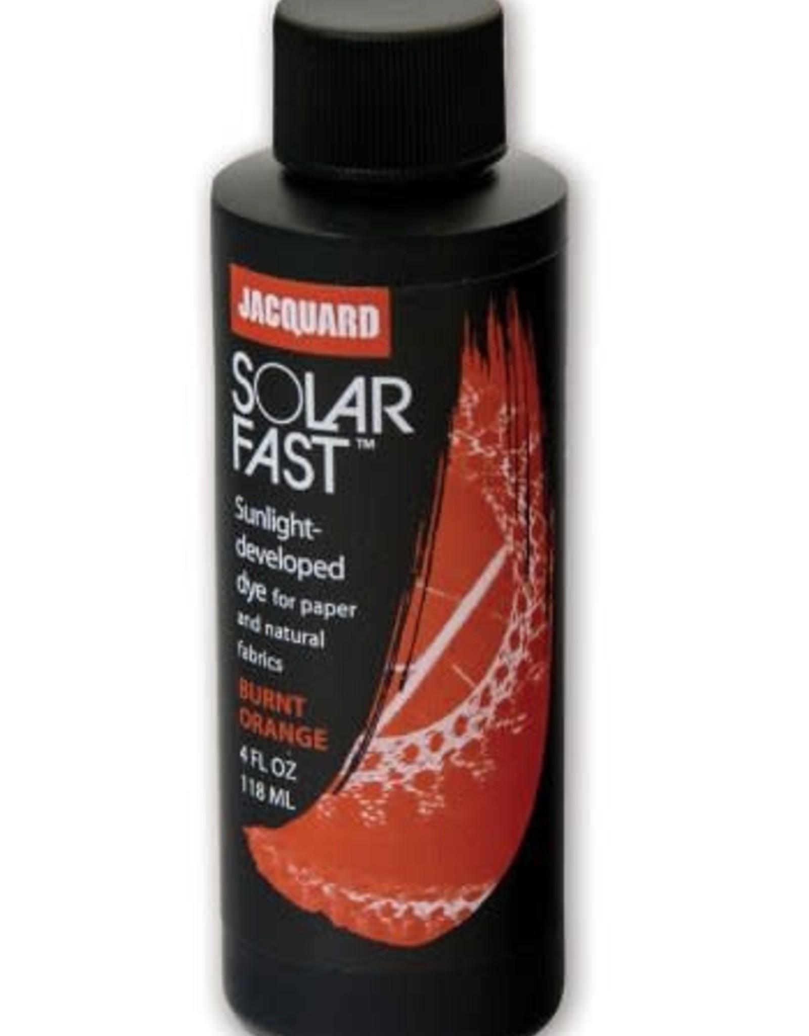 Jacquard SolarFast is verf die zich in de zon ontwikkelt!