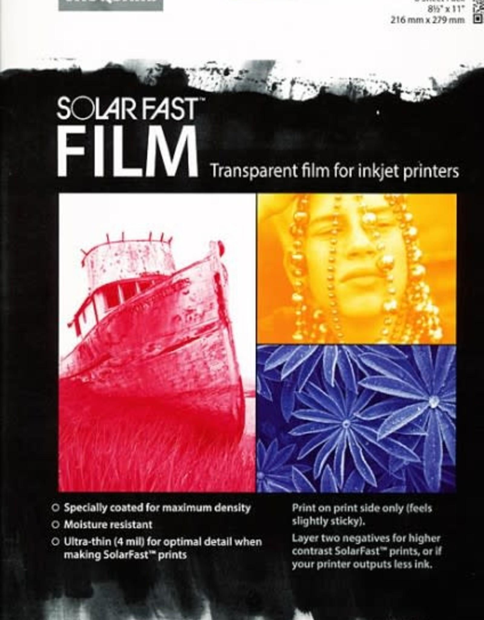 Jacquard SolarFast Film voor zonneprints met foto's