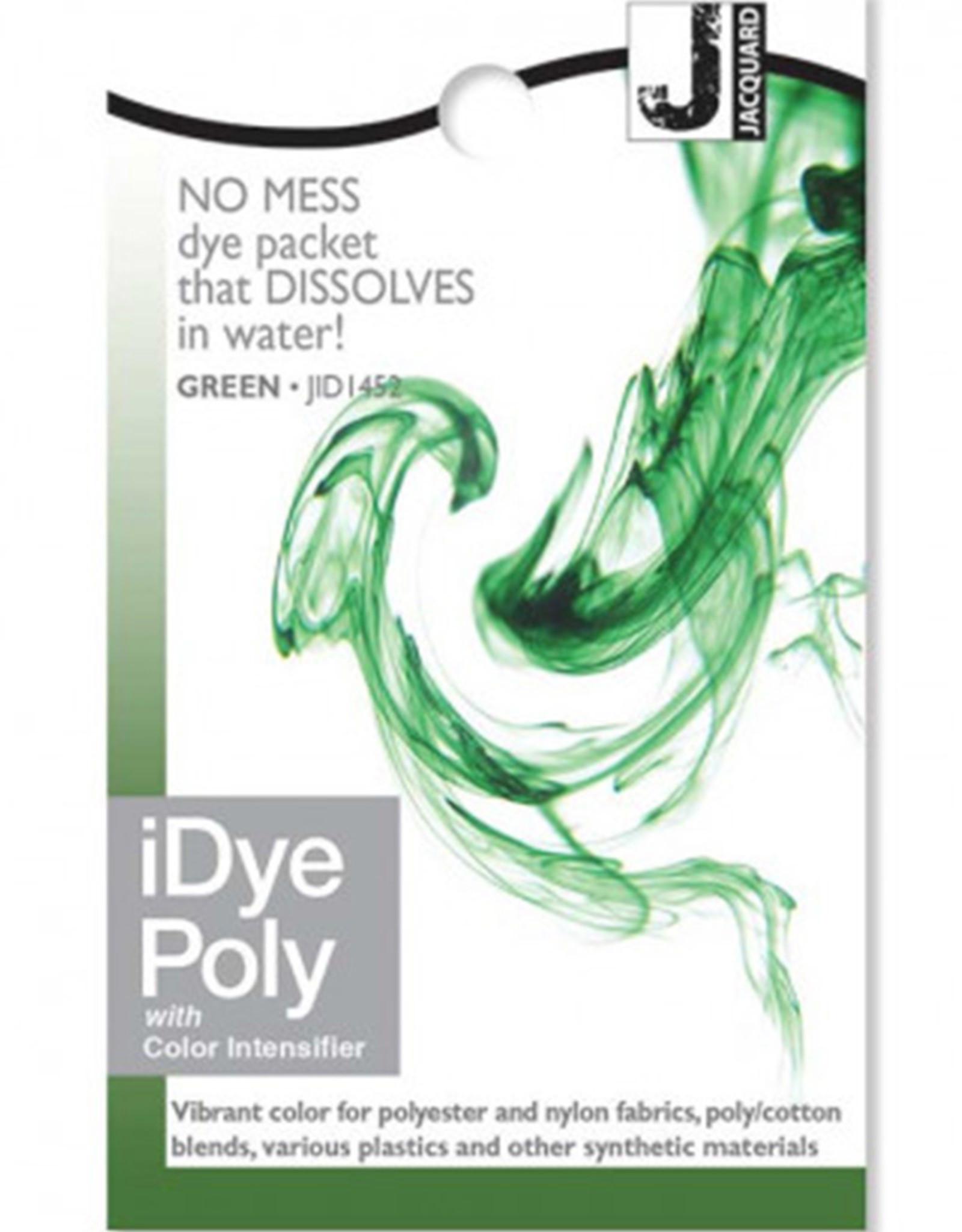 Jacquard iDye Poly Green