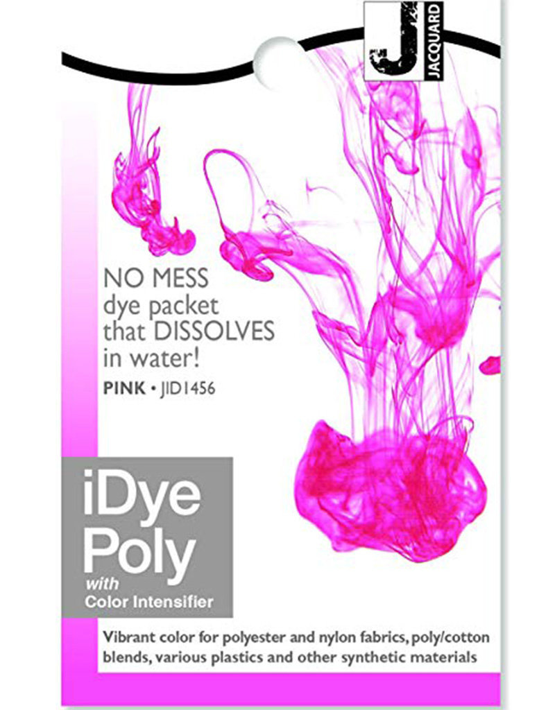 Jacquard iDye Poly Pink