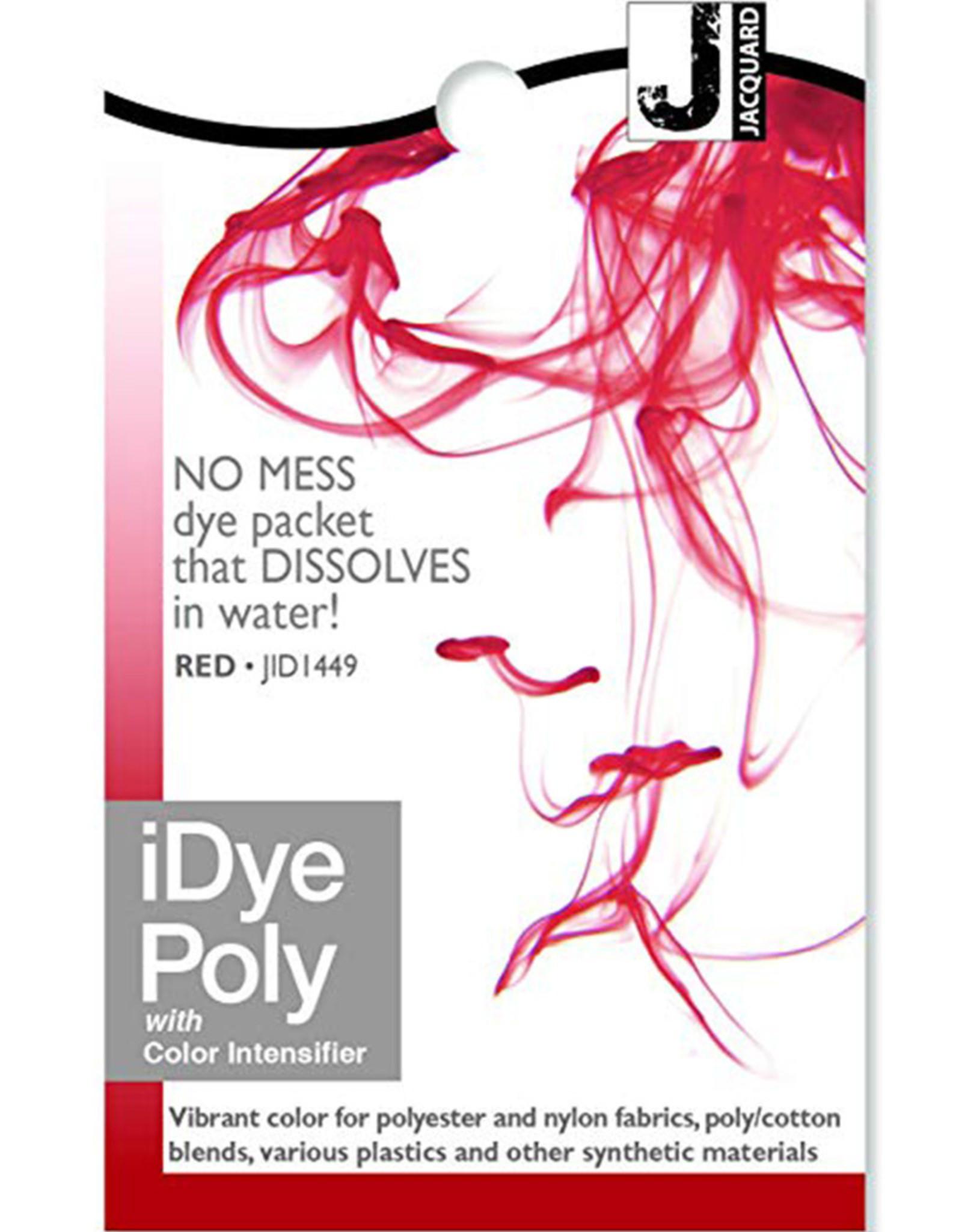 Jacquard iDye Poly Red