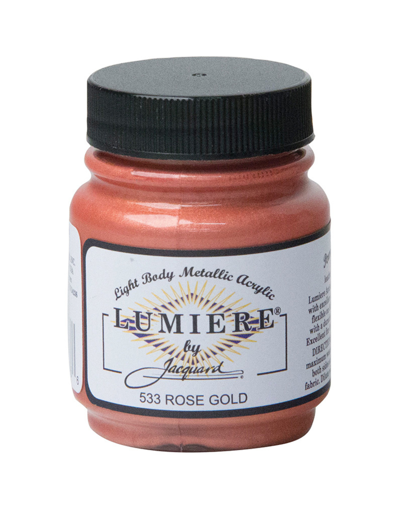 Jacquard Lumiere Rose Gold