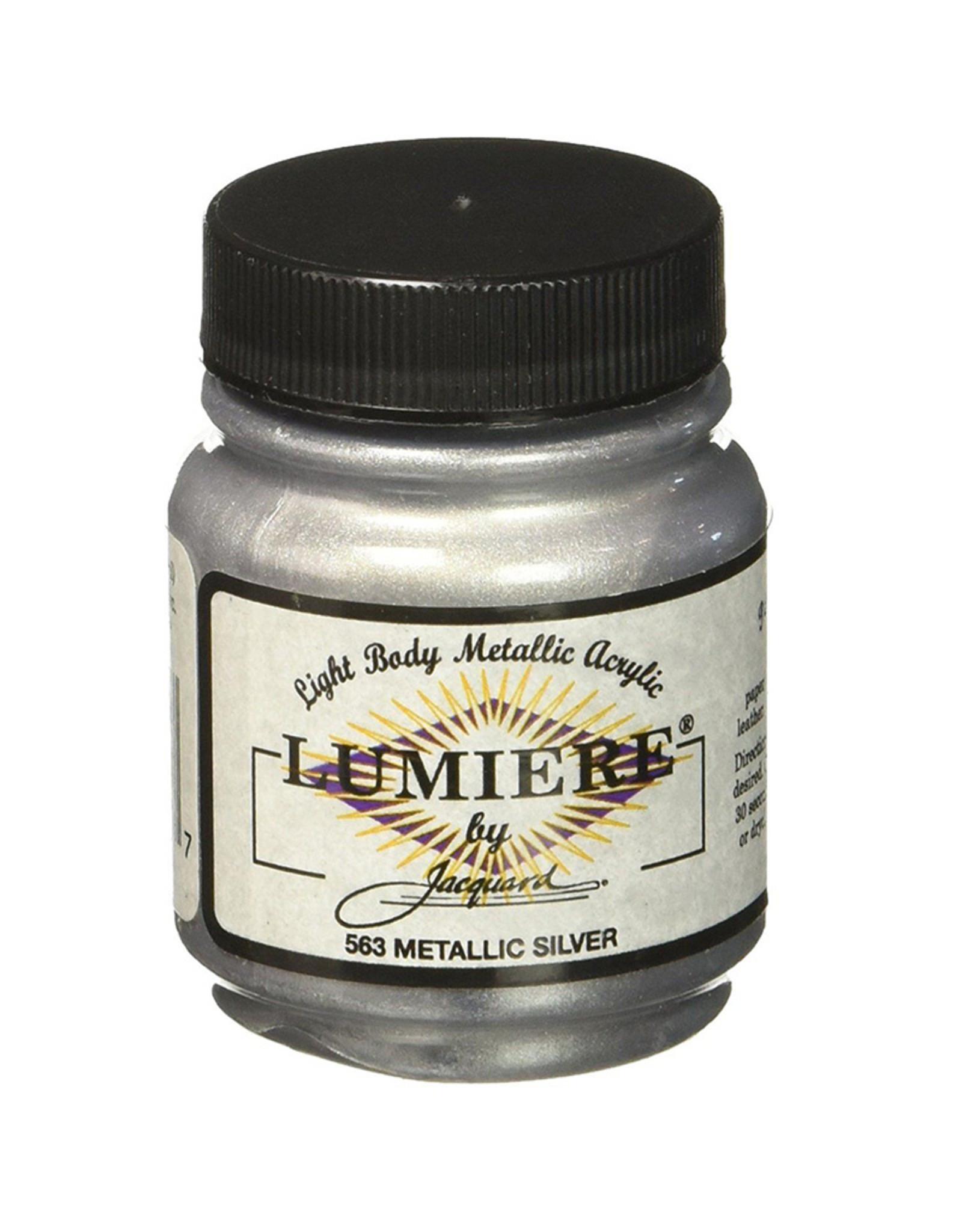 Jacquard Lumiere Metallic Silver