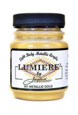 Jacquard Lumiere Metallic Gold