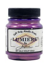 Jacquard Lumiere Halo Violet Gold