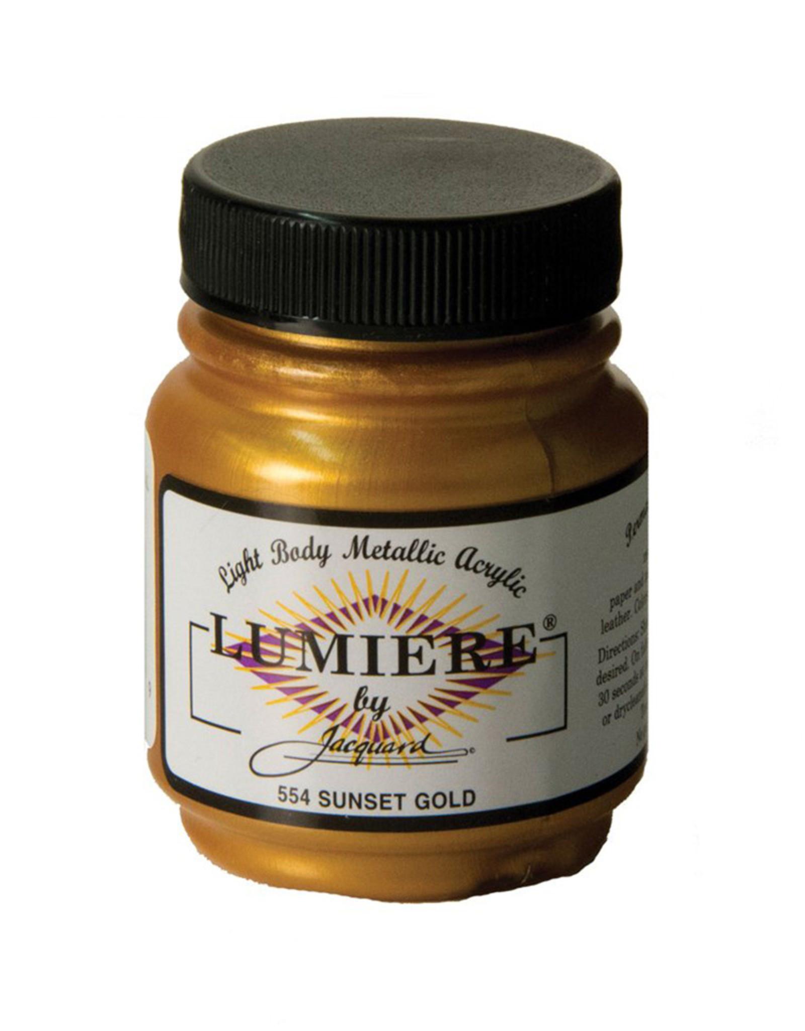 Jacquard Lumiere Sunset Gold