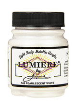 Jacquard Lumiere Pearlescent White
