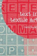 Text in Textile Art / Sara Impey