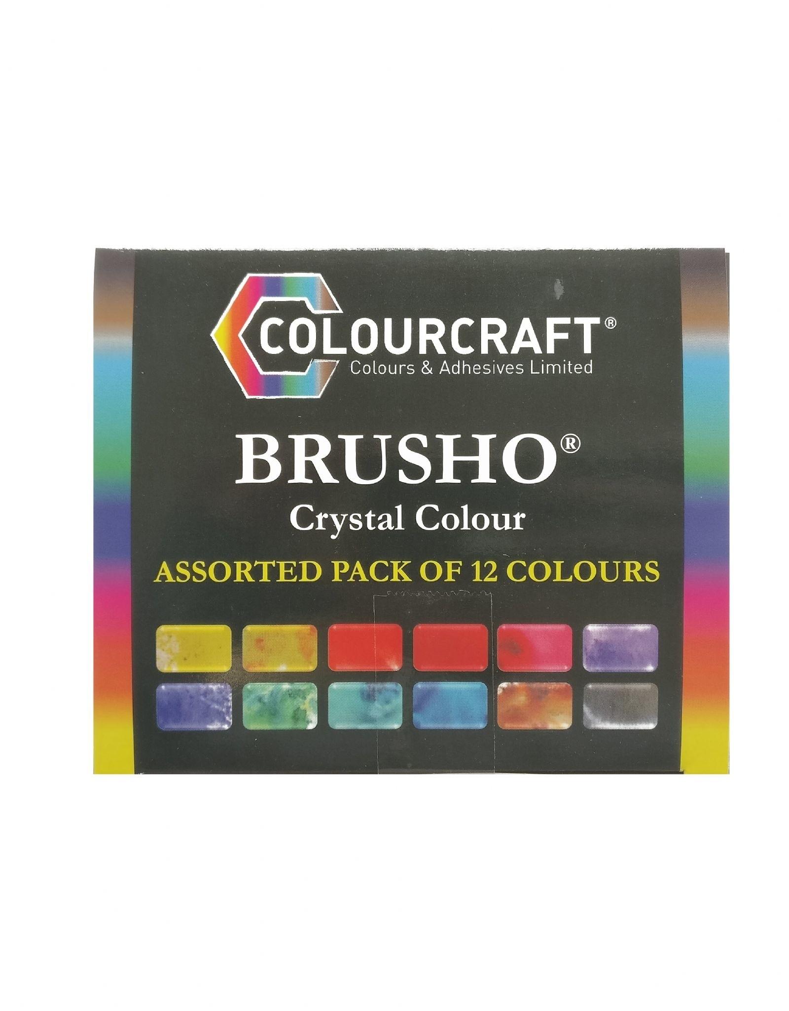 Brusho basics / Isobell Hall