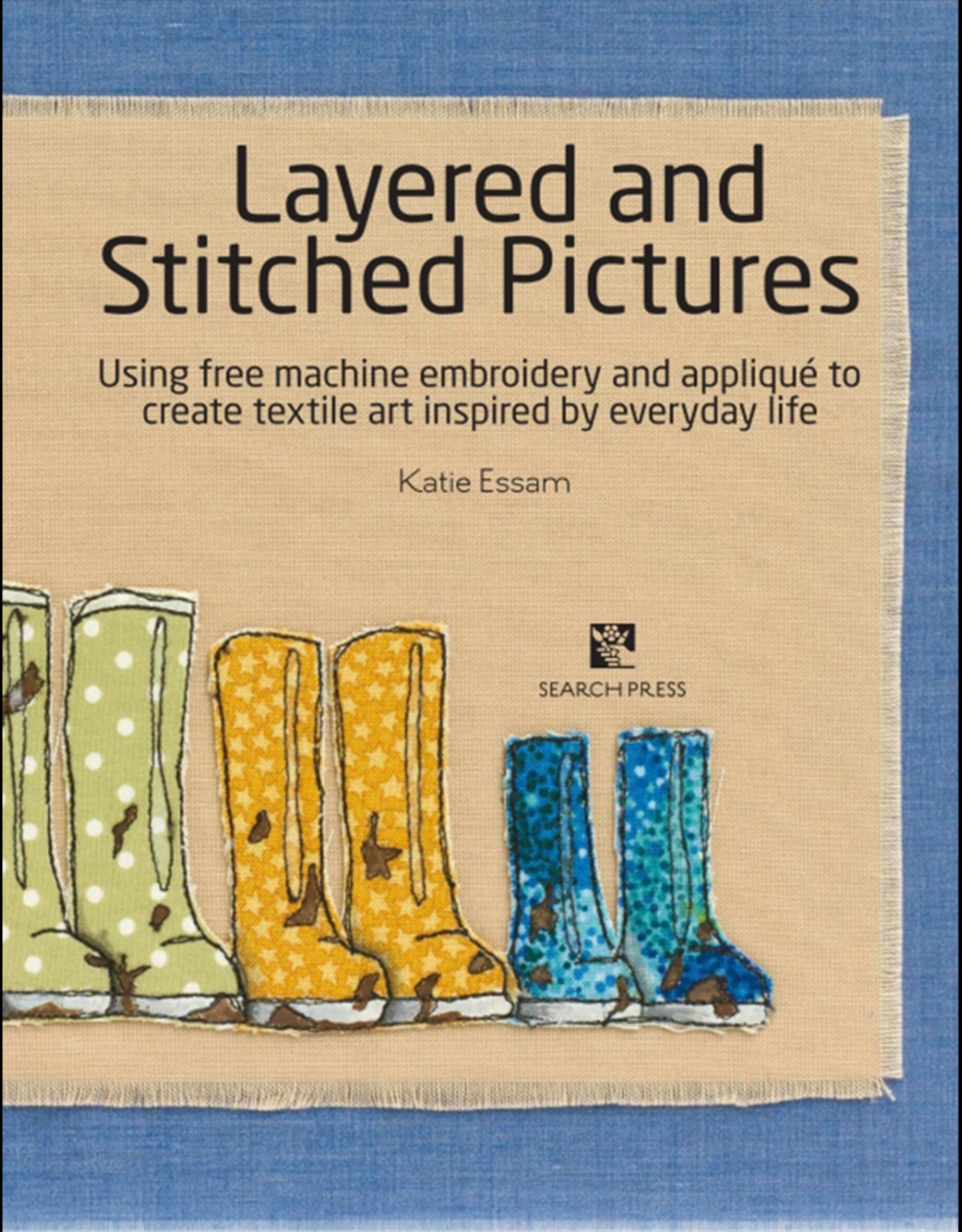 Layered Stitched Pictures / Katie Essam