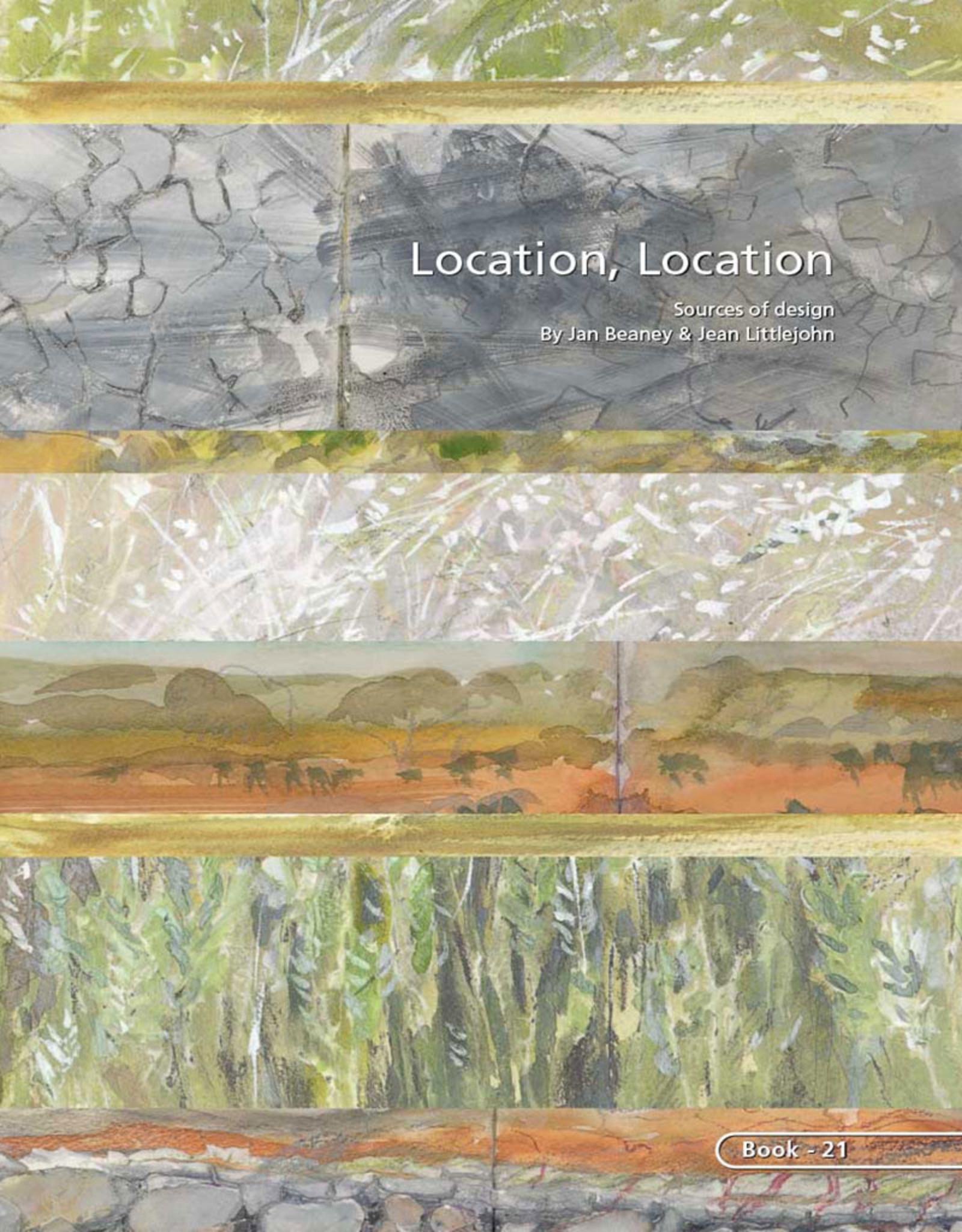 Location, Location. Sources of Design / Jan Beaney & Jean Littlejohn