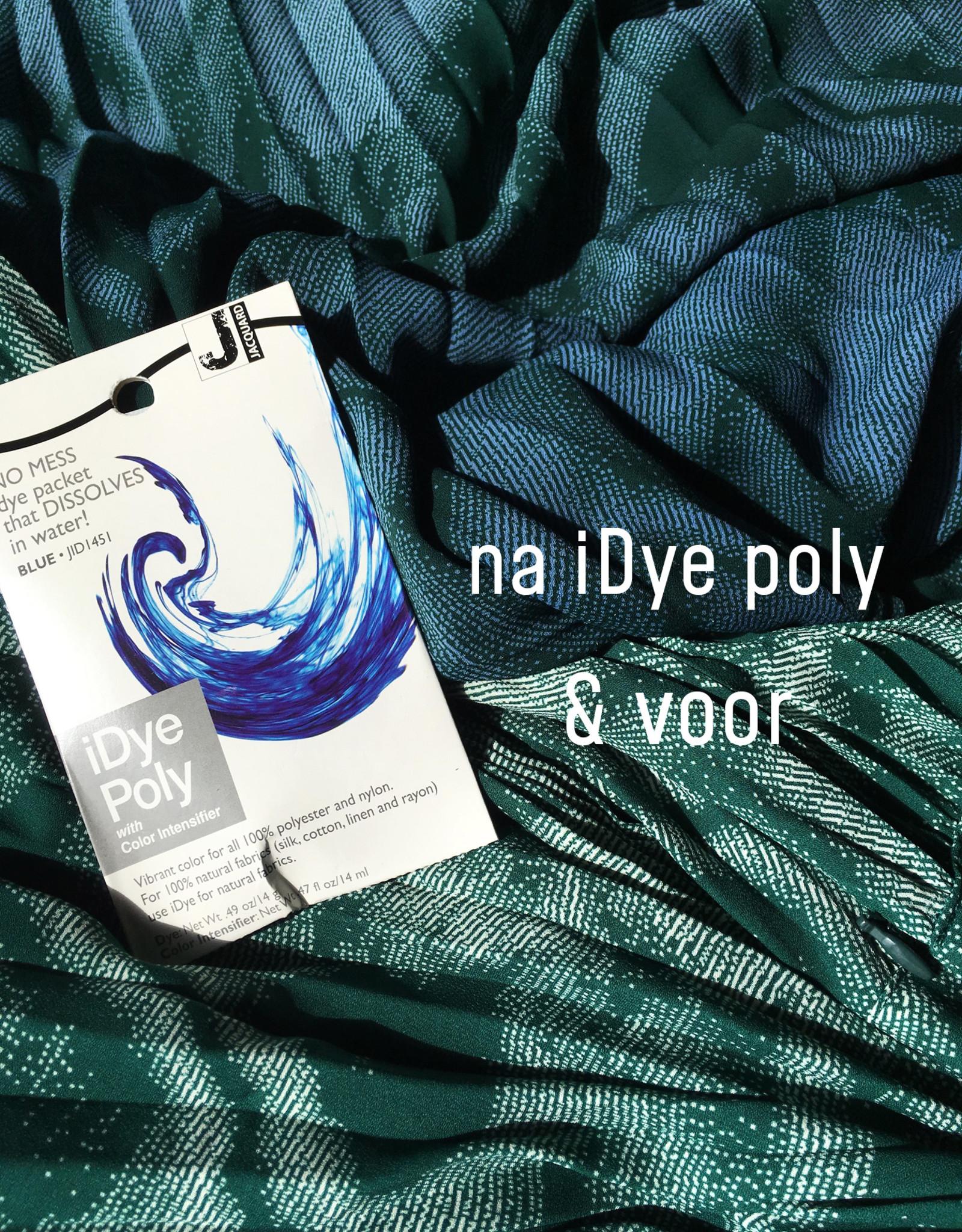 Jacquard Idye Poly Blue
