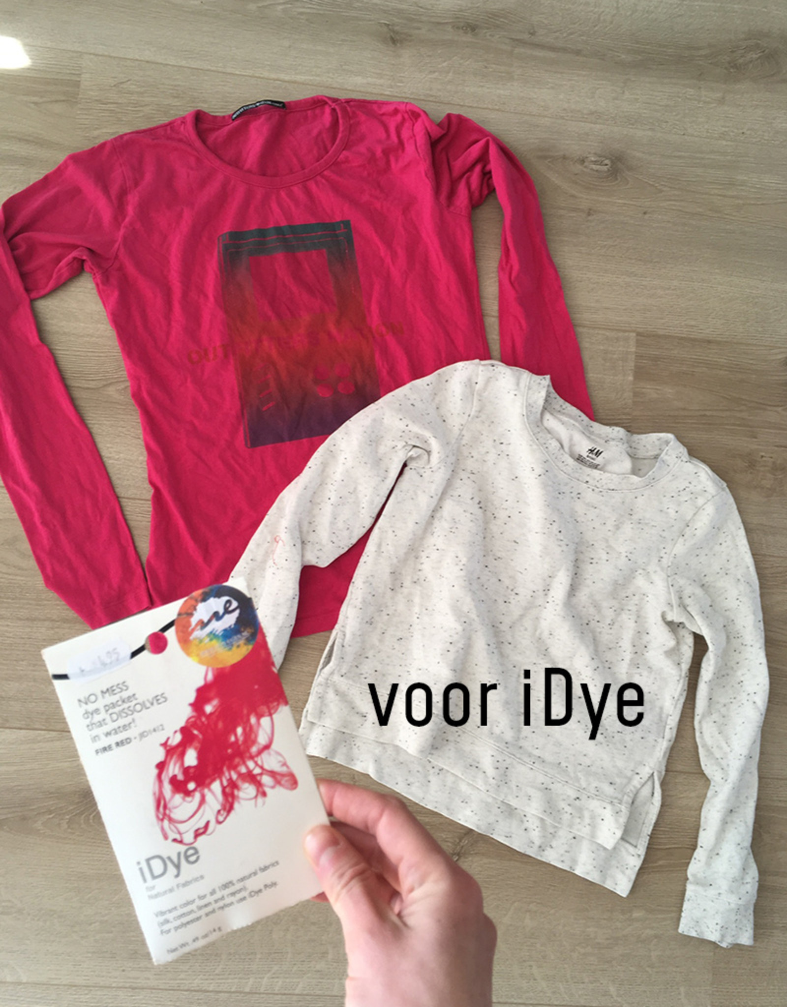 Jacquard iDye Fire Red