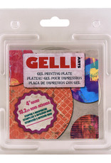 Gelli Plate Rond 4 inch